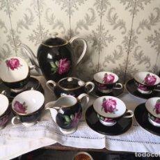 Antiguidades: JUEGO DE CAFÉ DE PORCELANA ALEMANA - MANUFACTURA THOMAS. Lote 253356635
