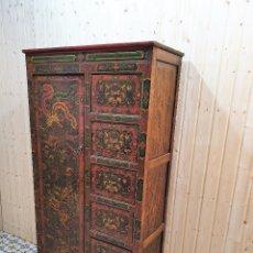 Antigüedades: ANTIGUO MUEBLE ARMARIO CAJONERA CHINO ORIENTAL. Lote 253407740