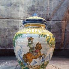 Antigüedades: TIBOR CERAMICA DE TALAVERA 51 CM. Lote 253408820