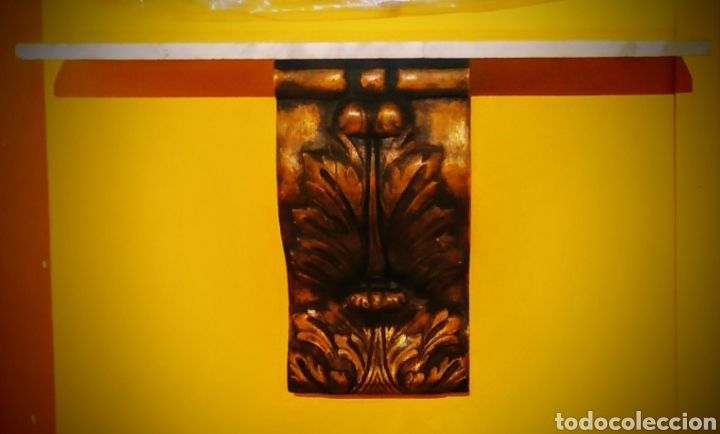 Antigüedades: Ménsula + mármol - Foto 2 - 253358010