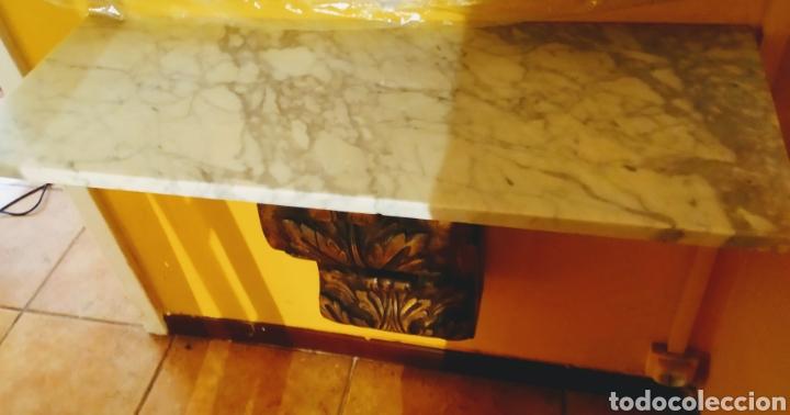 Antigüedades: Ménsula + mármol - Foto 3 - 253358010