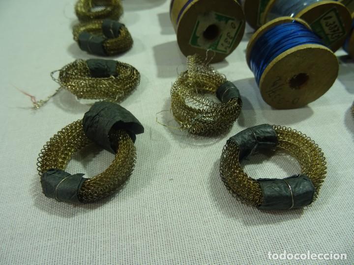Antigüedades: Carretes Hilo Metalico - Foto 5 - 253442070