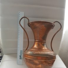 Antigüedades: JARRÓN DE COBRE. Lote 253474060