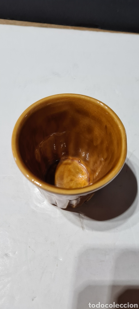 Antigüedades: Vaso o macetero pequeño de porcelana - Foto 3 - 253488205