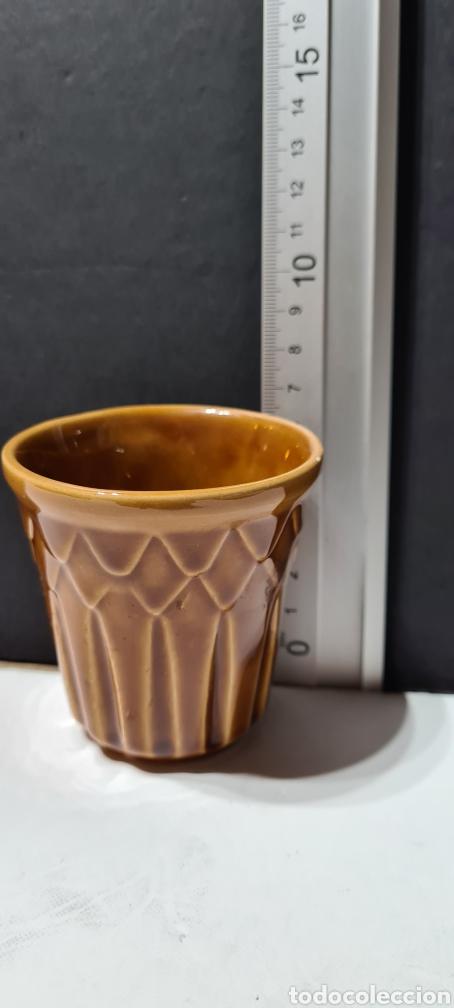 Antigüedades: Vaso o macetero pequeño de porcelana - Foto 6 - 253488205