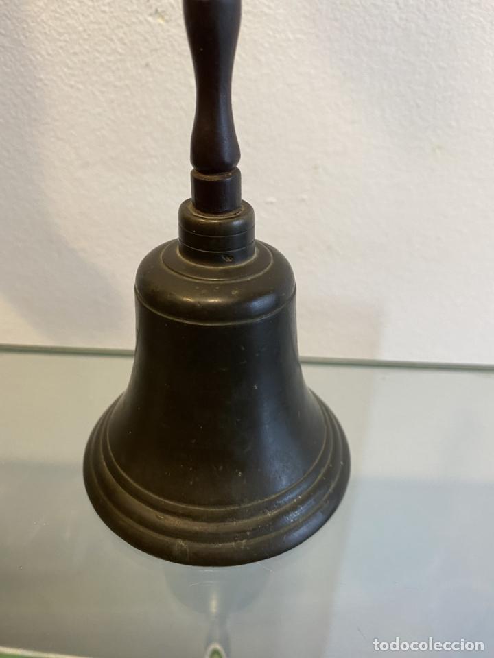 Antigüedades: campanilla, alta época, siglo XVII - Foto 2 - 253500645