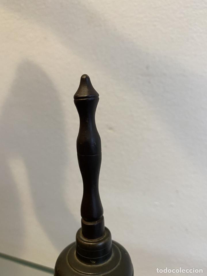 Antigüedades: campanilla, alta época, siglo XVII - Foto 3 - 253500645