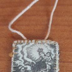 Antigüedades: ESCAPULARIO SIGLO XVIII - XIX . VER FOTOS.. Lote 253519400