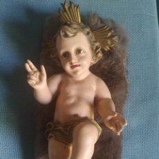 Antigüedades: NIÑO JESÚS OLOT 27 CM. Lote 253519650