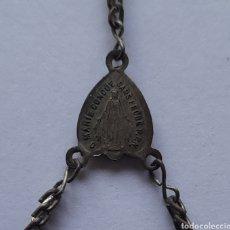 Antigüedades: ROSARIO ANTIGUO ( O MARIE CONCUE PRIEZ POUR NOUS ) DE 33 CM. VER FOTOS.. Lote 253531335