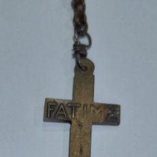 Antigüedades: ROSARIO ANTIGUO DE FATIMA 42 CM. VER FOTOS.. Lote 253548660