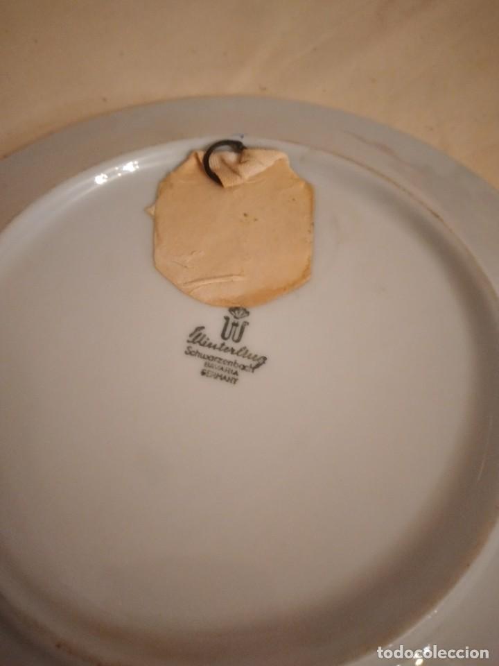 Antigüedades: Bonito plato de porcelana con imagen de la torre de pisa,winterling schuwarzembach bavaria germany - Foto 4 - 253559105