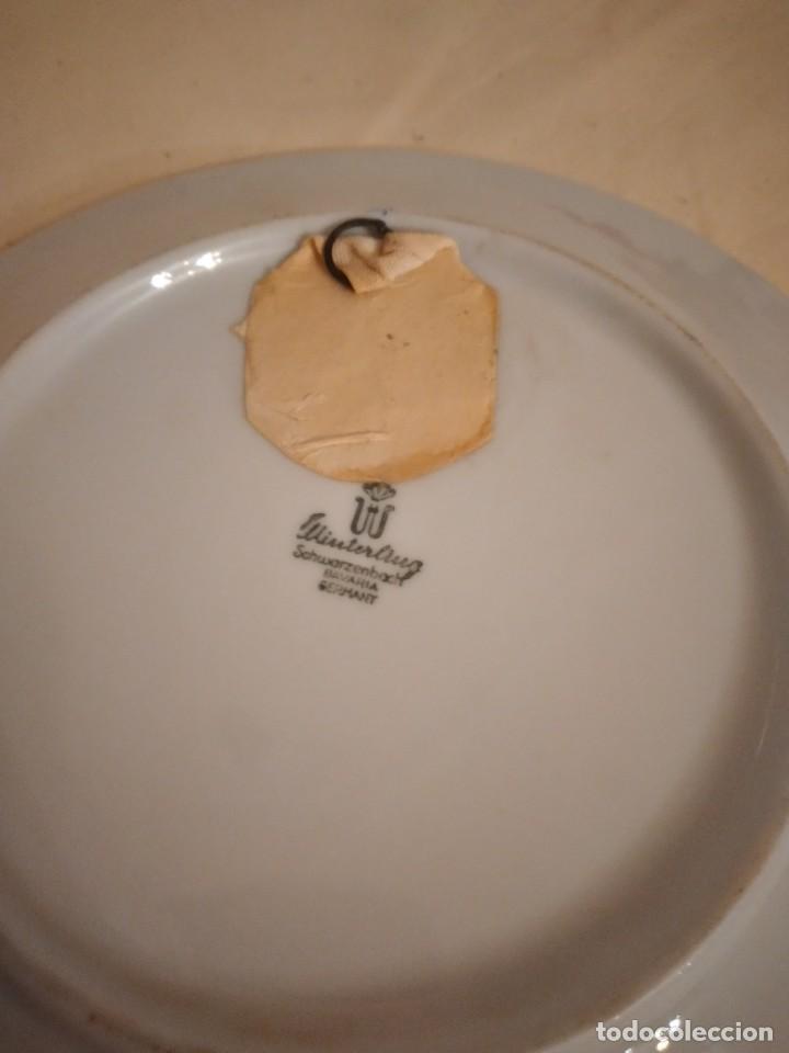 Antigüedades: Bonito plato de porcelana con imagen de la torre de pisa,winterling schuwarzembach bavaria germany - Foto 5 - 253559105