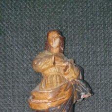 Antigüedades: INMACULADA DE TERRACOTA DEL SIGLO XVIII. Lote 253573475