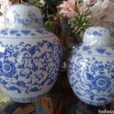 Antigüedades: 2 TIBOR CHINOS LUJO. Lote 253602275