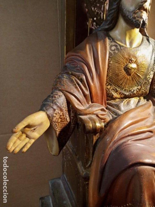 Antigüedades: TRONO DE JESUS - OLOT . - Foto 3 - 253618030