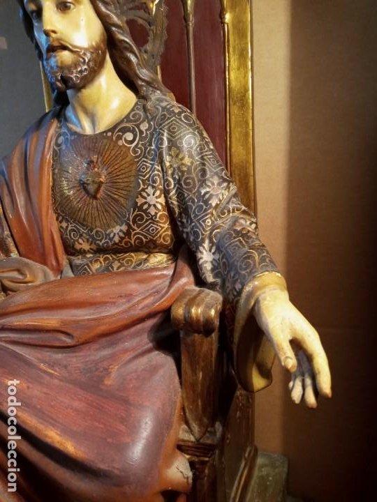 Antigüedades: TRONO DE JESUS - OLOT . - Foto 4 - 253618030