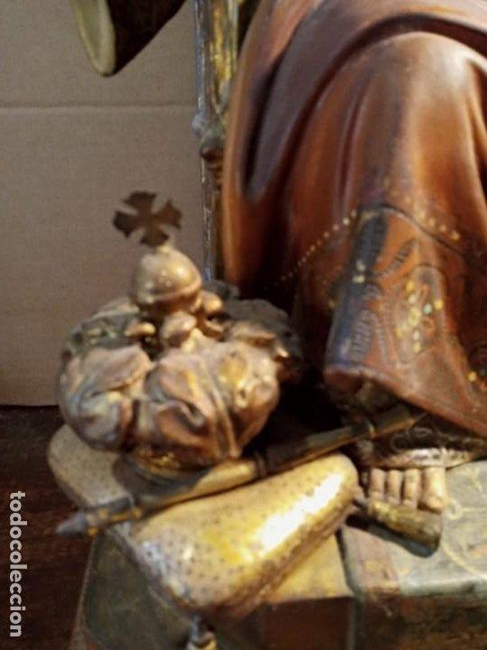 Antigüedades: TRONO DE JESUS - OLOT . - Foto 5 - 253618030