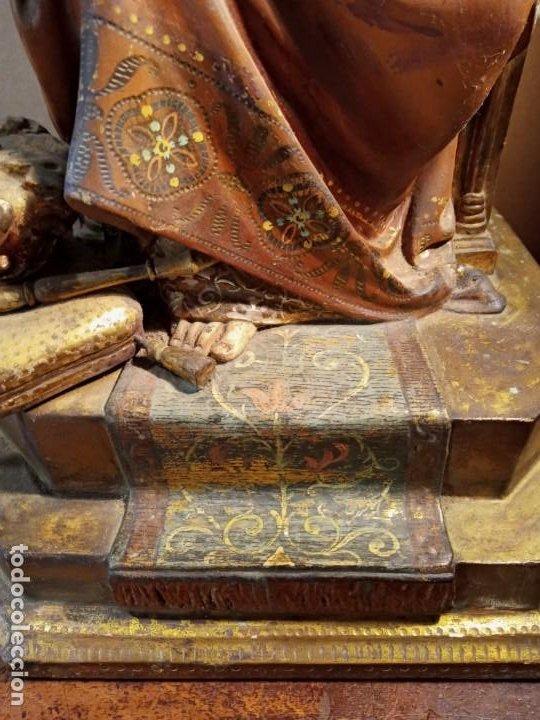 Antigüedades: TRONO DE JESUS - OLOT . - Foto 6 - 253618030
