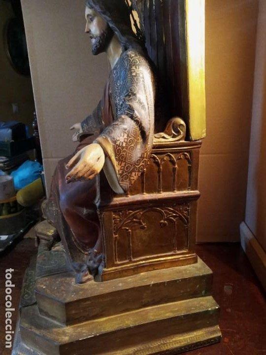 Antigüedades: TRONO DE JESUS - OLOT . - Foto 7 - 253618030