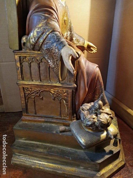 Antigüedades: TRONO DE JESUS - OLOT . - Foto 8 - 253618030