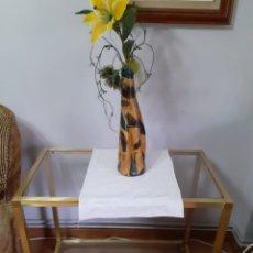 Antigüedades: MESA DE CRISTAL COMEDOR. Lote 253773905