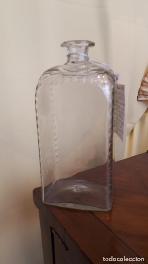 FRASCA DE CRISTAL DE LA GRANJA (Antigüedades - Cristal y Vidrio - La Granja)