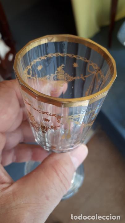 Antigüedades: Copa de cristal de la granja - Foto 4 - 253800395