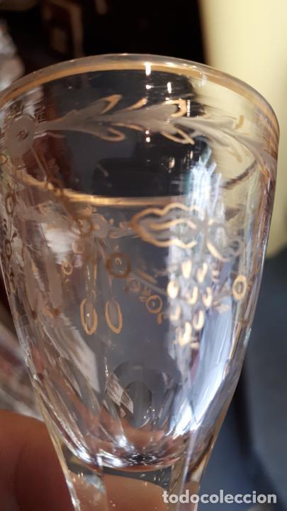 Antigüedades: Copa de cristal de la granja - Foto 4 - 253803220