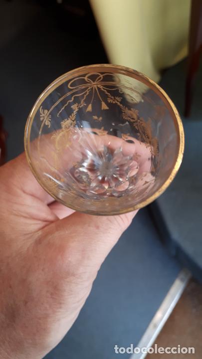 Antigüedades: Copa de cristal de la granja - Foto 2 - 253803825