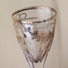 Antigüedades: COPA DE CRISTAL DE LA GRANJA. Lote 253803825