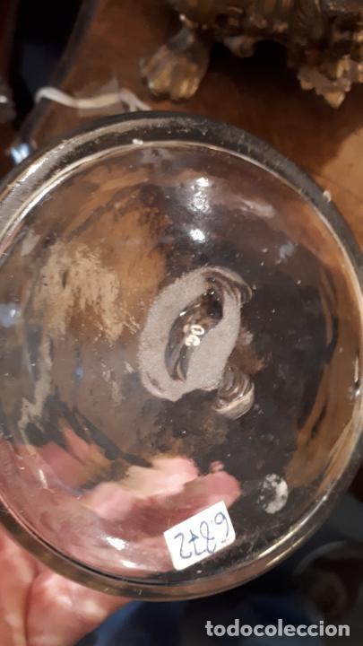 Antigüedades: Garrafa de de Cristal de La Granja - Foto 5 - 253808895