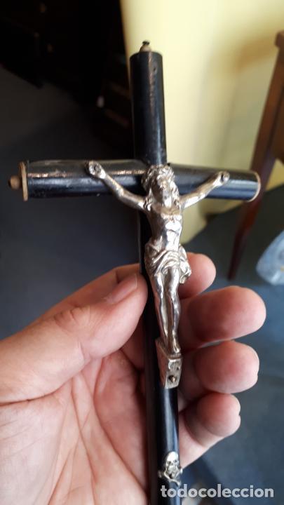 Antigüedades: Crucifijo isabelino - Foto 7 - 253815305