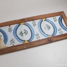 Antigüedades: PANEL CUADRO AZULEJOS CATALANES ----REF-MO. Lote 253822650