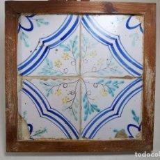 Antigüedades: PANEL CUADRO AZULEJOS CATALANES ----REF-MO. Lote 253822795