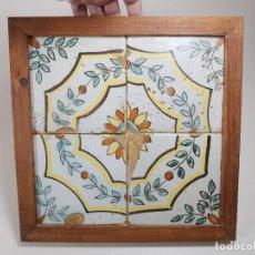 Antigüedades: PANEL CUADRO AZULEJOS CATALANES ----REF-MO. Lote 253823060