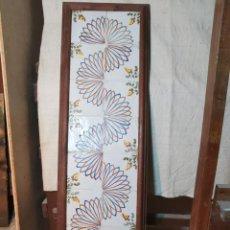 Antigüedades: GRAN PANEL CUADRO DE 16 AZULEJOS CATALANES ----REF-MO. Lote 253824255