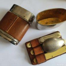 Antigüedades: CUBIERTOS DE CAMPAÑA CAZA. Lote 253890840