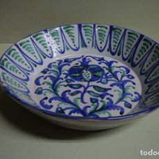 Antigüedades: PLATO, CUENCO CERAMICA DE FAJALAUZA. Lote 253899975