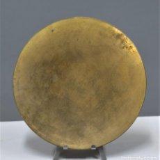 Antigüedades: ANTIGUA PATENA DE METAL DORADO. PPIOS. SIGLO XX. Lote 253913150