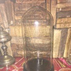 Antiquités: FANAL VIDRIO SOPLADO A MANO XVIII. Lote 253914530