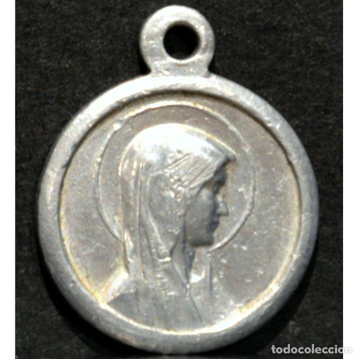 ANTIGUA MEDALLA VIRGEN DE LOURDES (Antigüedades - Religiosas - Medallas Antiguas)