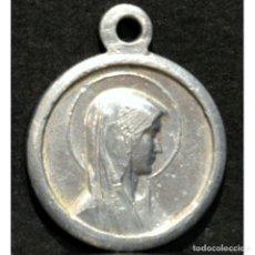 Antigüedades: ANTIGUA MEDALLA VIRGEN DE LOURDES. Lote 254013740