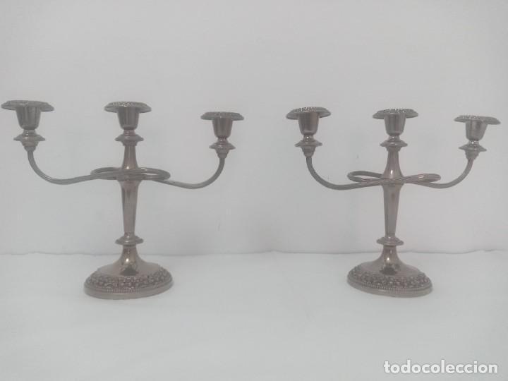 CANDELABROS ANTIGUOS IMPRESIONANTES! (Antigüedades - Iluminación - Candelabros Antiguos)