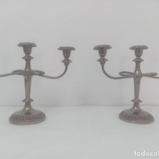 Antigüedades: CANDELABROS ANTIGUOS IMPRESIONANTES!. Lote 254033350
