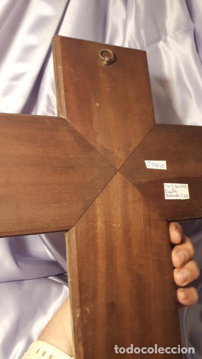Antigüedades: Crucifijo y pila benditera. - Foto 13 - 254085970