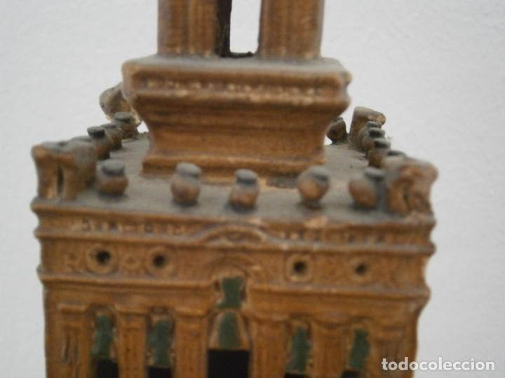 Antigüedades: PRECIOSA TORRE DE BARRO, PARA RESTAURAR. AÑOS 60/70 APROX. - Foto 5 - 254130485