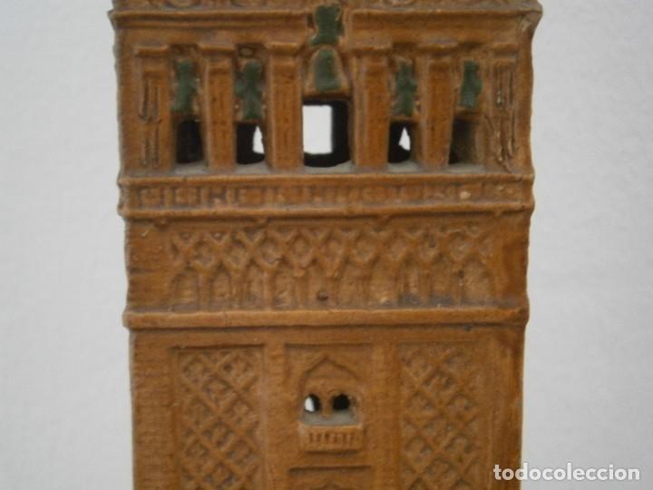 Antigüedades: PRECIOSA TORRE DE BARRO, PARA RESTAURAR. AÑOS 60/70 APROX. - Foto 6 - 254130485