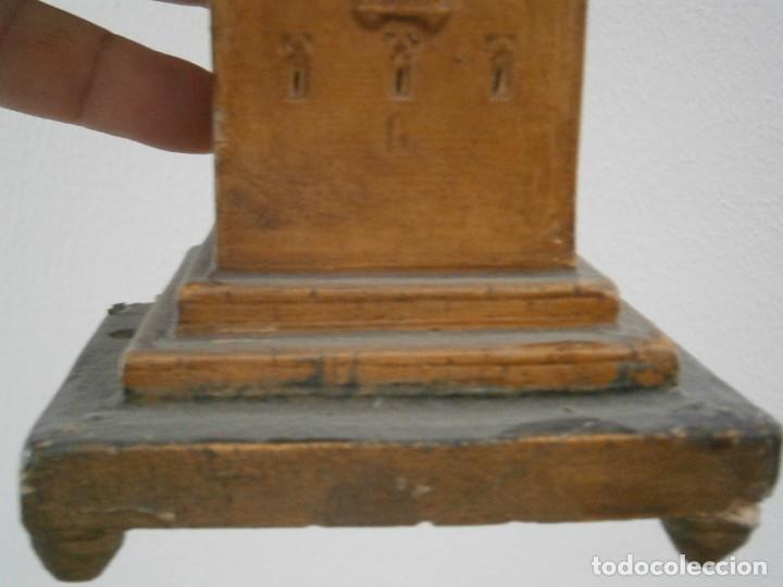 Antigüedades: PRECIOSA TORRE DE BARRO, PARA RESTAURAR. AÑOS 60/70 APROX. - Foto 9 - 254130485