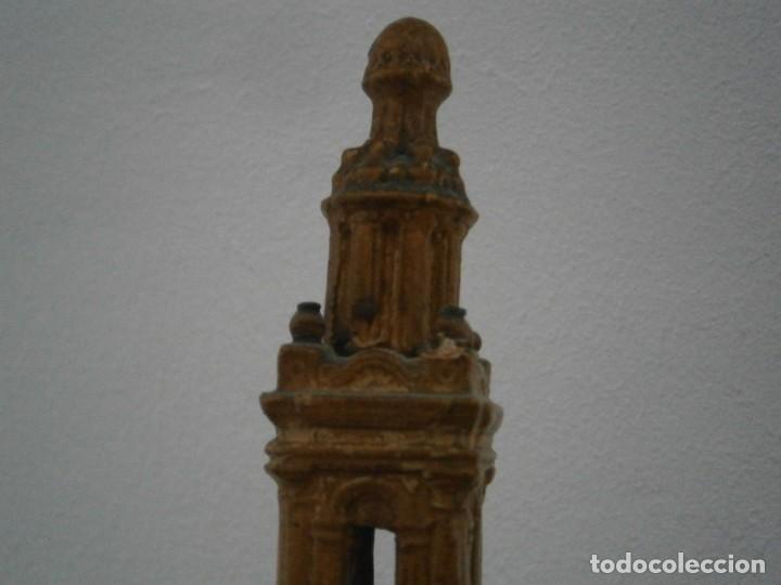 Antigüedades: PRECIOSA TORRE DE BARRO, PARA RESTAURAR. AÑOS 60/70 APROX. - Foto 10 - 254130485
